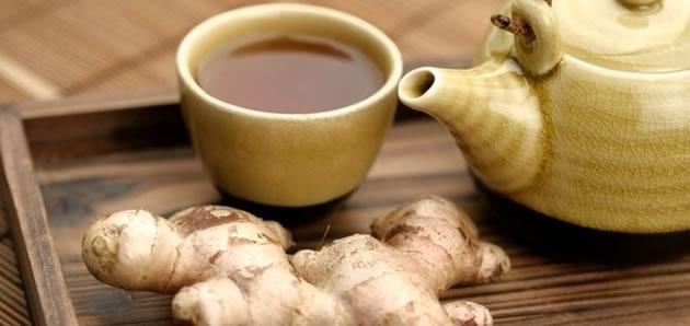 gengibre e chá verde para perder peso naturalmente