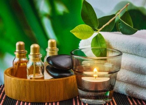 Banhos aromáticos saúde beleza