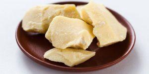manteiga de cacau coração chocolate