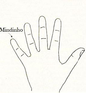 mindinho dedos quiromancia Ciência