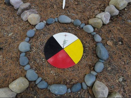 roda de cura sagrada medicina índios xamanismo saúde nascimento morte