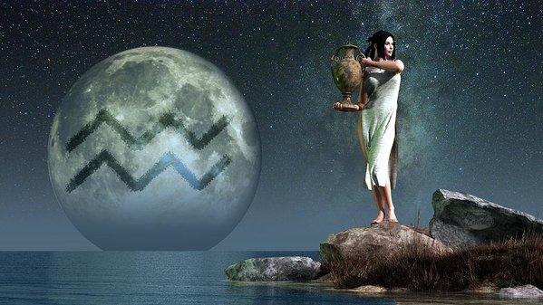 influência da lua  horóscopo  crianças astrologia aquário