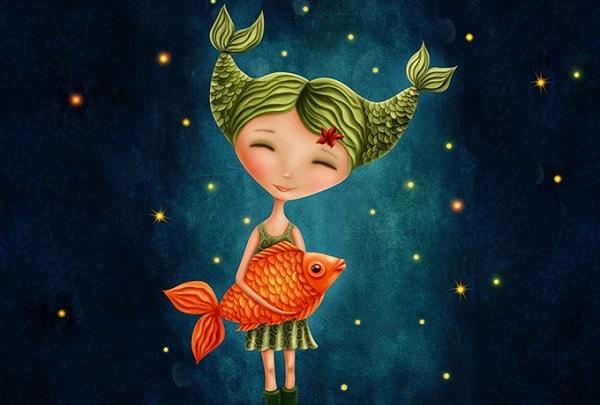 crianças signo Peixes astrologia